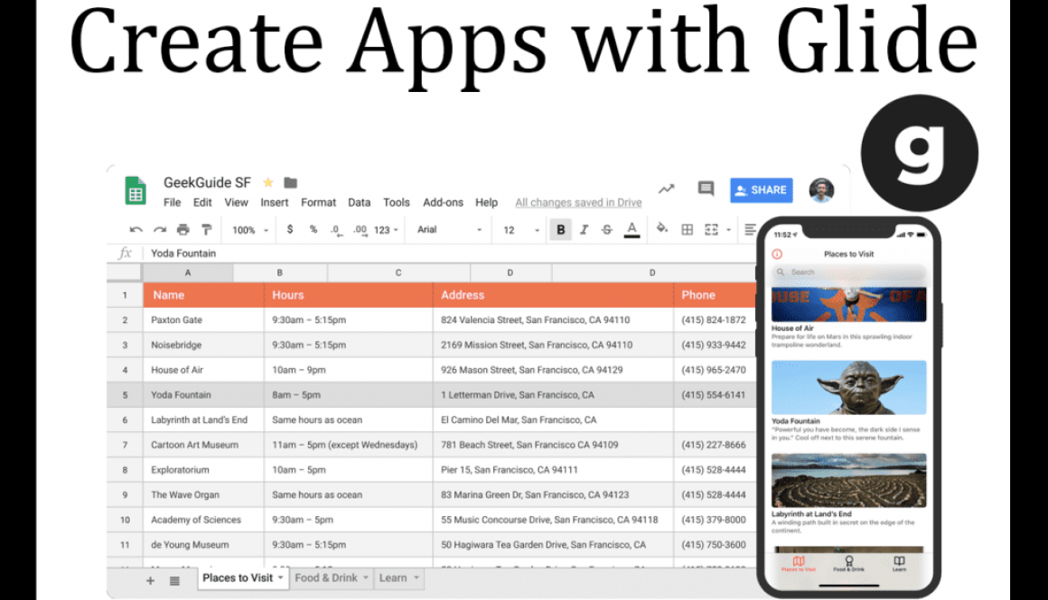 Create Apps with Glide