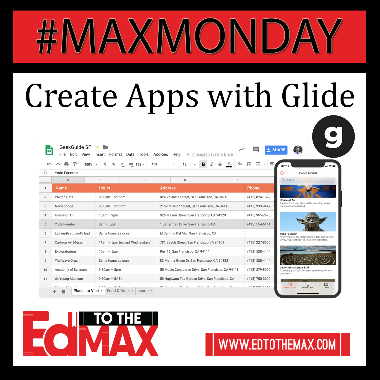 Create your Own App with Glide Apps