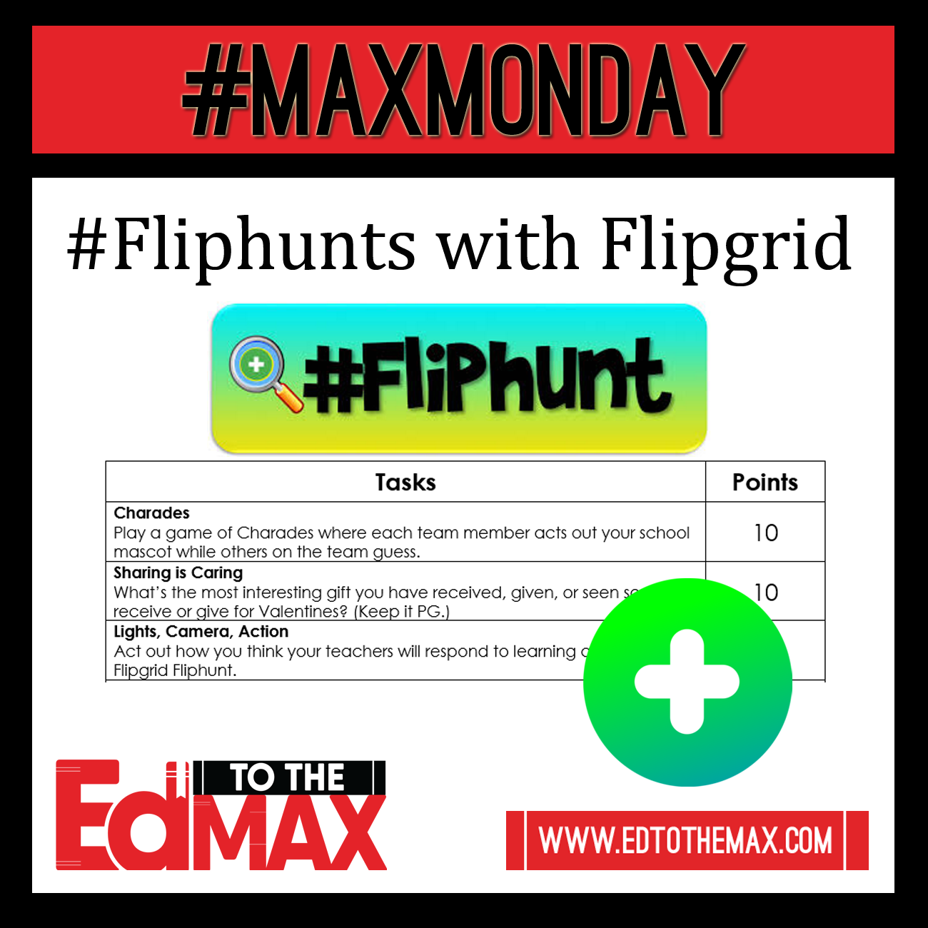 Engage your Students with a #Fliphunt
