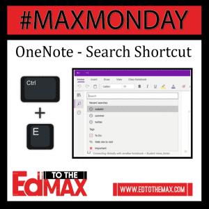 OneNote Search Shortcut