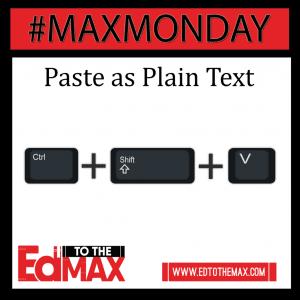 Paste as Plain Text2