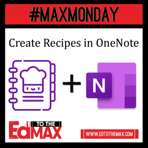 Recipes in OneNote
