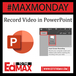 Record Video in PPT