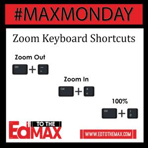 Zoom Keyboard Shortcuts2