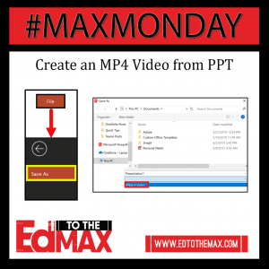 Create an MP4 Video in PPT