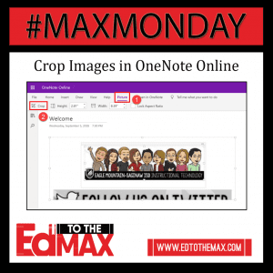 MM Crop Images in OneNote Online