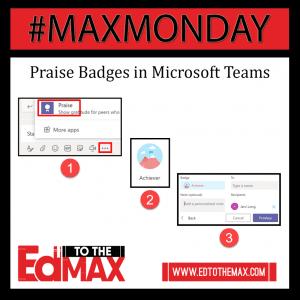 Praise Badges in Teams