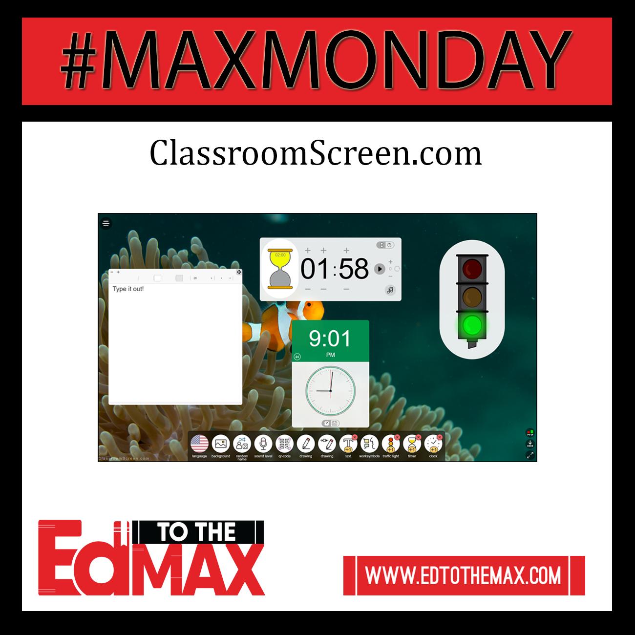 ClassroomScreen – A Teacher's Dream!