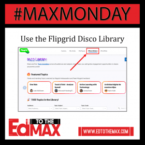 Use the Flipgrid Disco Library