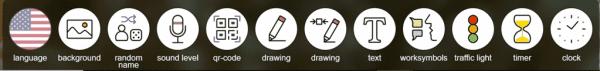 classroomscreen toolbar