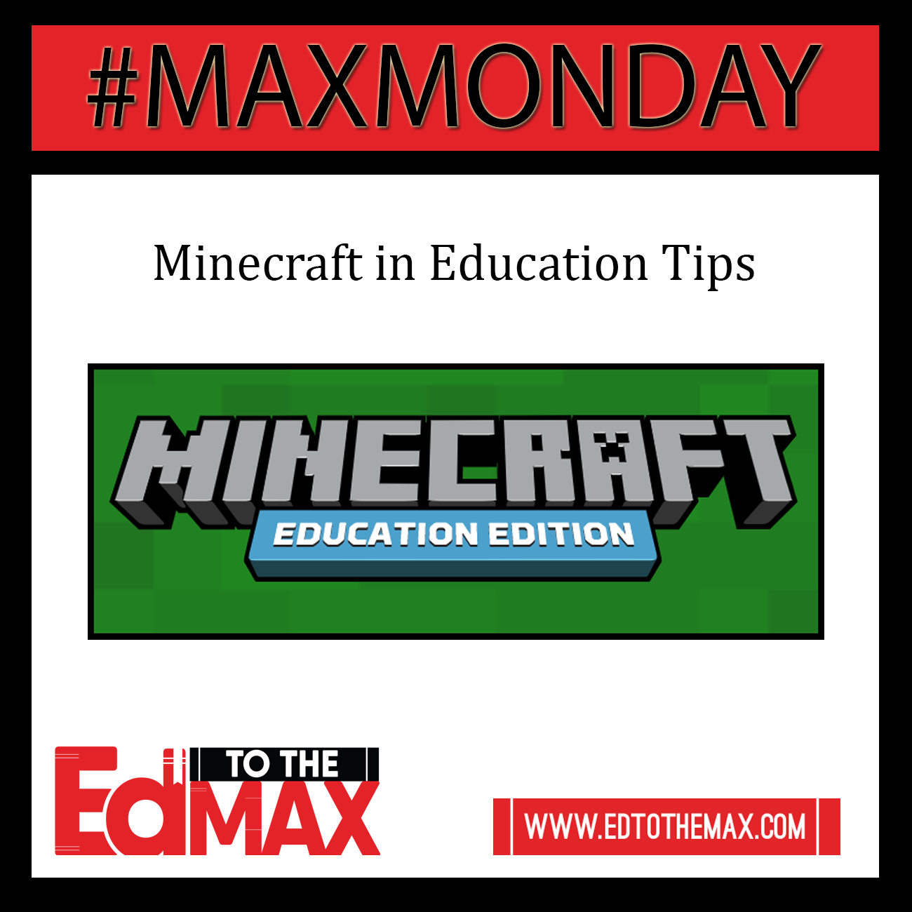 Minecraft In Education Tips