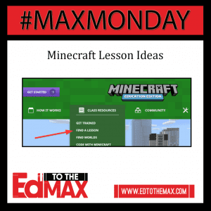 Minecraft Lesson Ideas