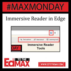Immersive Reader in Edge