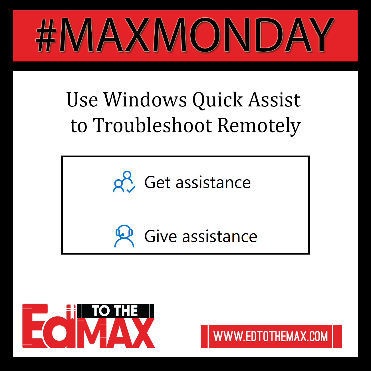 Use Windows Quick Assist to Troubleshoot Remotely