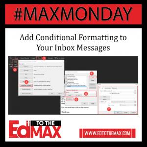 Insta conditional formatting inbox