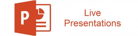 Live Presentation Banner